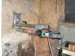 Kernbohrung, Bestimmung Feuchtegehalt Mauerwerk, Bauschadensgutachten, 921