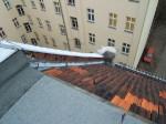 Wasserschaden Dachanschluss, Bauschadensgutachten, 1030
