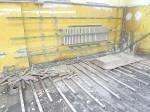 Schimmelpilz im Bodenaufbau Turnhalle 2